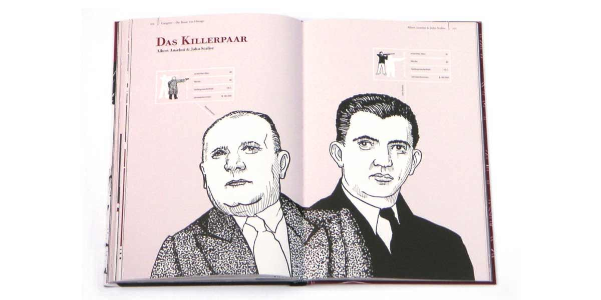 Gesellschaftsspiele Robert Nippoldt Gangster Die Bosse von Chicago  Gerstenberg Verlag